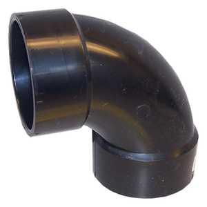Genova 82830 Sanitary Elbow 90° 3-inch Abs