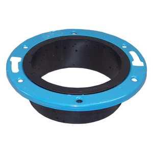 Genova 85150 Closet Floor Flange 4x3 With Metal Ring Abs