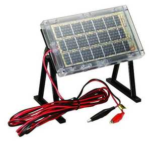 American Hunter BL-660-S Solar Battery Charger 6v
