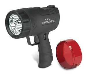 Cyclops CYC-9WS Spotlight Rechargeable 9w With 6 LED
