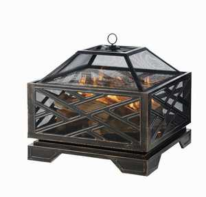 GHP Group OFW165S-1 Fire Pit Martin Rubbed Bronze