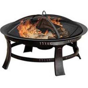 GHP Group OFW106R-1 Fire Pit Brant Rubbed Bronze