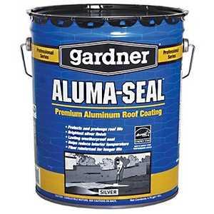 Gardner-Gibson 7225-A Gardner Aluma-Seal Roof Coating 5 Gal