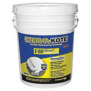 Gardner-Gibson 5570-1-30 Eterna-Kote 100% Silicone 4.75 Gal S-100 Silicone+ Roof Coating