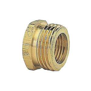 Gilmour 7MP7FH 3/4-Inch X 3/4-Inch Brass Hose Connector