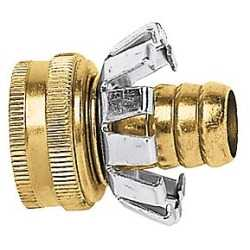 Gilmour C12F 1/2-Inch Brass Female Clinch Hose Coupler