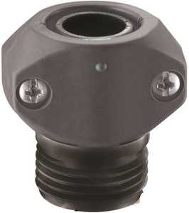 Gilmour 01M 5/8-Inch Or 3/4-Inch Polymer Male Hose Coupling