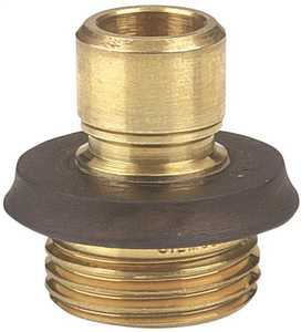 Gilmour 09QCM Brass Male Heavy Duty Hose Quick Connector