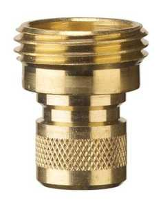 Gilmour 50335 Connect Quick Brass 2Male