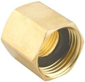 Gilmour 7FP7FH 3/4-Inch X 3/4-Inch Brass Double Female Hose Connector