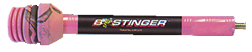 Bee Stinger SPHX08PK Bee Stinger Extreme 8 In Matte Black/Pink