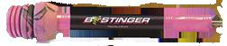 Bee Stinger SPHX10PK Bee Stinger Extreme 10 In Matte Black/Pink