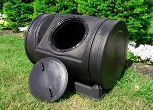Good Ideas Inc. EZCJR-BLK Compost Wizard Junior Black