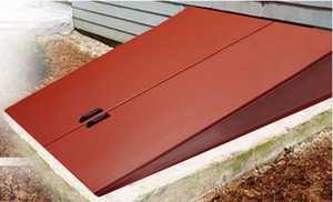 Gordon Corporation CD-3 53 in Steel Primed Cellar Door