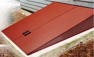 Gordon Corporation RD-3 52-1/2 in X 73-1/2 in Primed Steel Replacement Cellar Door