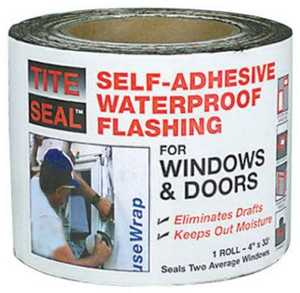 Co-Fair TS433 Tite-Seal Window And Door Flashing 4 in x33 ft