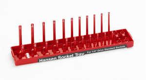 HANSEN GLOBAL, INC 1401 Hansen Global Socket Trays 1/4 In Drv Standard