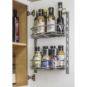 HARDWARE RESOURCES DMS6-PC-R Door Mount Tray System