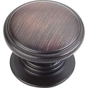 HARDWARE RESOURCES 3980-DBAC Durham Oil Rubbed Bronze Cabinet Knob 1-1/4 in