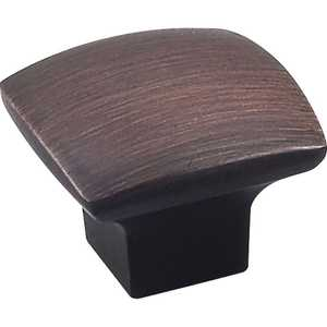 HARDWARE RESOURCES 431DBAC Sonoma Oil Rubbed Bronze Cabinet Knob 1-3/16 in