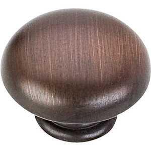 HARDWARE RESOURCES 3950-DBAC Gatsby Oil Rubbed Bronze Mushroom Knob 1-3/16 in