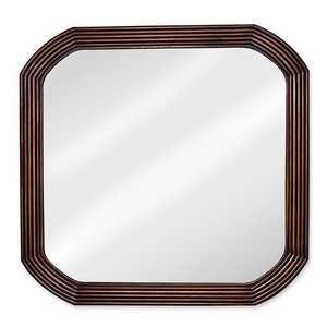 Hardware Resources MIR025 Walnut Elliptical Mirror 26x26