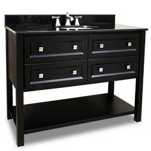 Hardware Resources VAN036-48-T Adler Vanity With Top 48 in