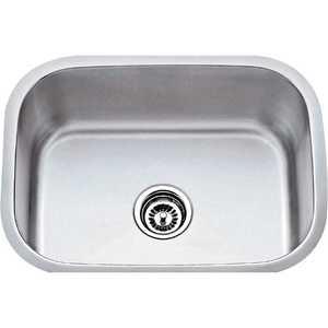HARDWARE RESOURCES 862 18 Gauge Stainless Steel Undermount Utility Sink