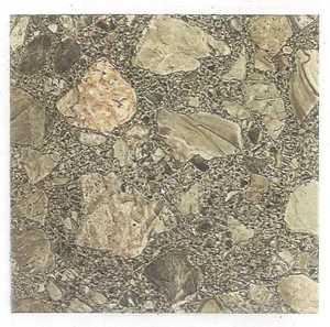 Heart Of America 01617P Ultrashine Plus 12x12 Brown Patio Stone Vinyl Tile 40 Sq. Ft.