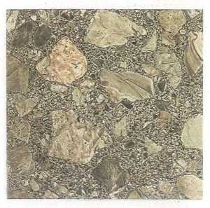 Heart Of America 01617 EVERSHINE 12-Inch X 12-Inch Evershine Brown Patio Stone Vinyl Tile - Carton Of 45