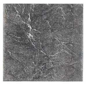 Heart Of America 93319 EVERSHINE 12-Inch X 12-Inch Evershine Black Slate Vinyl Tile - Carton Of 45
