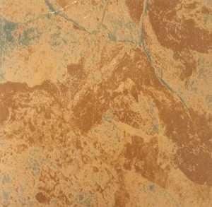 Heart Of America CL1110 Evershine 12x12 Rustic Brown/Teal Self-Adhesive Vinyl Tile Carton Of 45