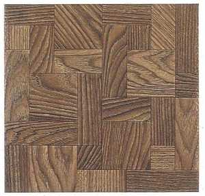 Heart Of America 13602 ULTRA Ultrashine 12x12 Haddon Hall Wood Vinyl Tile Carton Of 45