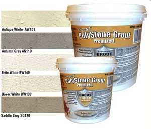 Heart Of America SG120 Polystone Grout In Saddle Grey 1 Qt