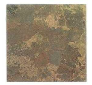 Heart Of America IT009H ULTRA Ultrashine 12x12 Dark Brown Slate Vinyl Tile Individual Tile