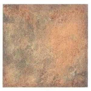 Heart Of America ESB00070 EARTH 12-Inch X 12-Inch Earthstone Copper/Rust Slate Vinyl Tile