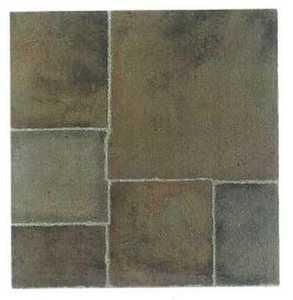 Heart Of America CL2830ULTRASHNE Ultrashine 12x12 New Brick Pattern Vinyl Tile Individual Tile
