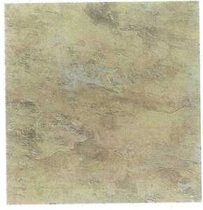 Heart Of America CL1701EVERSHINE 12-Inch X 12-Inch Evershine Rustic Tan/Beige Vinyl Tile