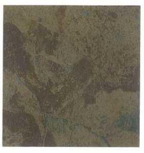 Heart Of America CL1110EVERSHINE Evershine 12x12 Rustic Brown/Teal Vinyl Tile Individual Tile