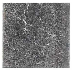 Heart Of America 93319 EVERSHINE 12-Inch X 12-Inch Evershine Black Slate Vinyl Tile