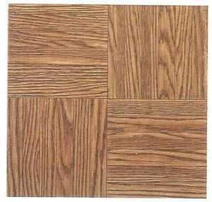 Heart Of America 12103 ULTRA 12-Inch X 12-Inch Ultrashine Finger Block Wood Vinyl Tile