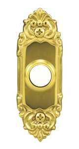 Heath 859-B Doorbell Button Decor Solid Brass 110v