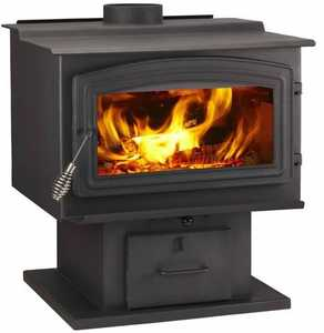 Hearth & Home Technologies WS-TS-2500 WoodPro Wood Stove - 115,000 Btu, EPA-Certified