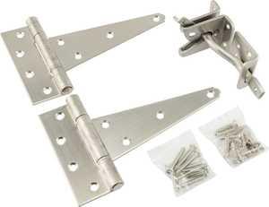 Hillman 853371 Stainless Steel Gate Kit Cd