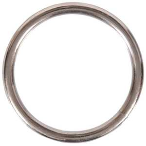 Hillman 321708 Nickel Plated Welded Ring .177x3/4 Fg
