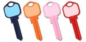 Hillman 87497 Write-On-It Keys (4 Colors) Kw1/Kw10