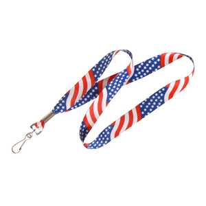 Hillman 712371 Usa Flag Neck Lanyard