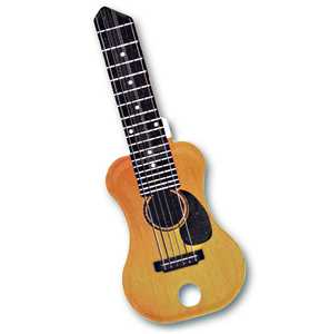 The Hillman Group 87464 Rockin' Keys Acoustic Guitar House Key