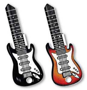 The Hillman Group 87465 Assorted Rockin' Keys Electric Guitar House Key