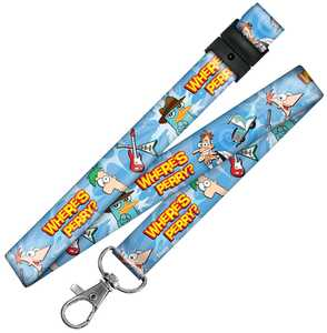 Hillman 712135 Phineas And Ferb Breakaway Neck Lanyard